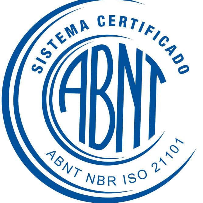 ABNT NBR ISO 21101-2014 azul